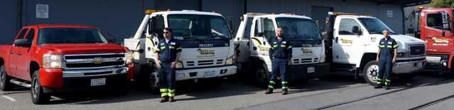 Fast Towing Company in San Ramon